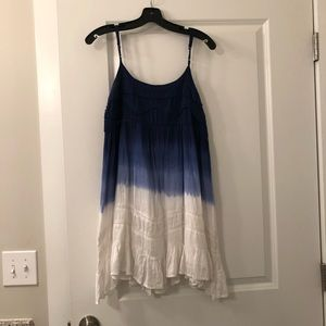 Blue Ombré Dress